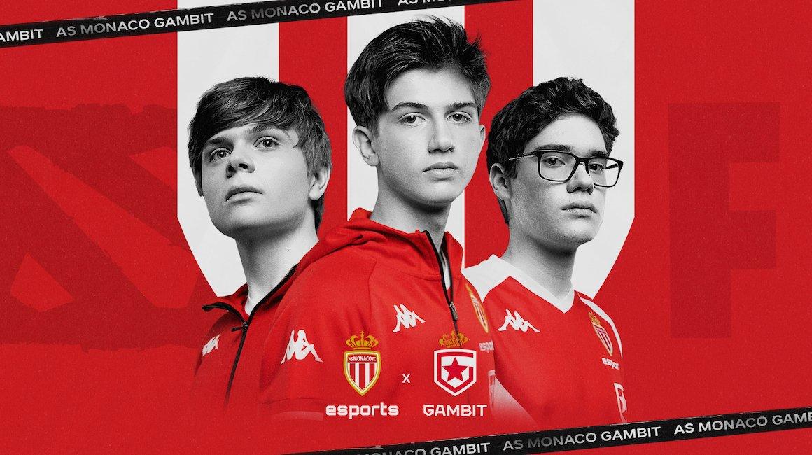 Partnership fra AS Monaco e Gambit Esports